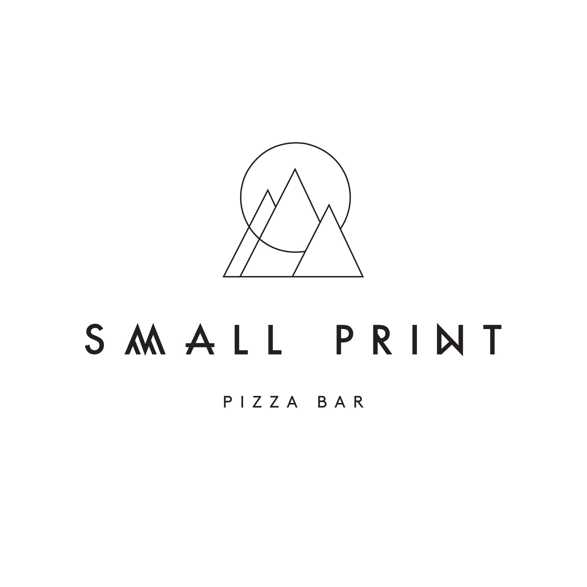 Studio Mimi Moon-Small-Print-Pizza-Bar-identity-and-signage-design-1