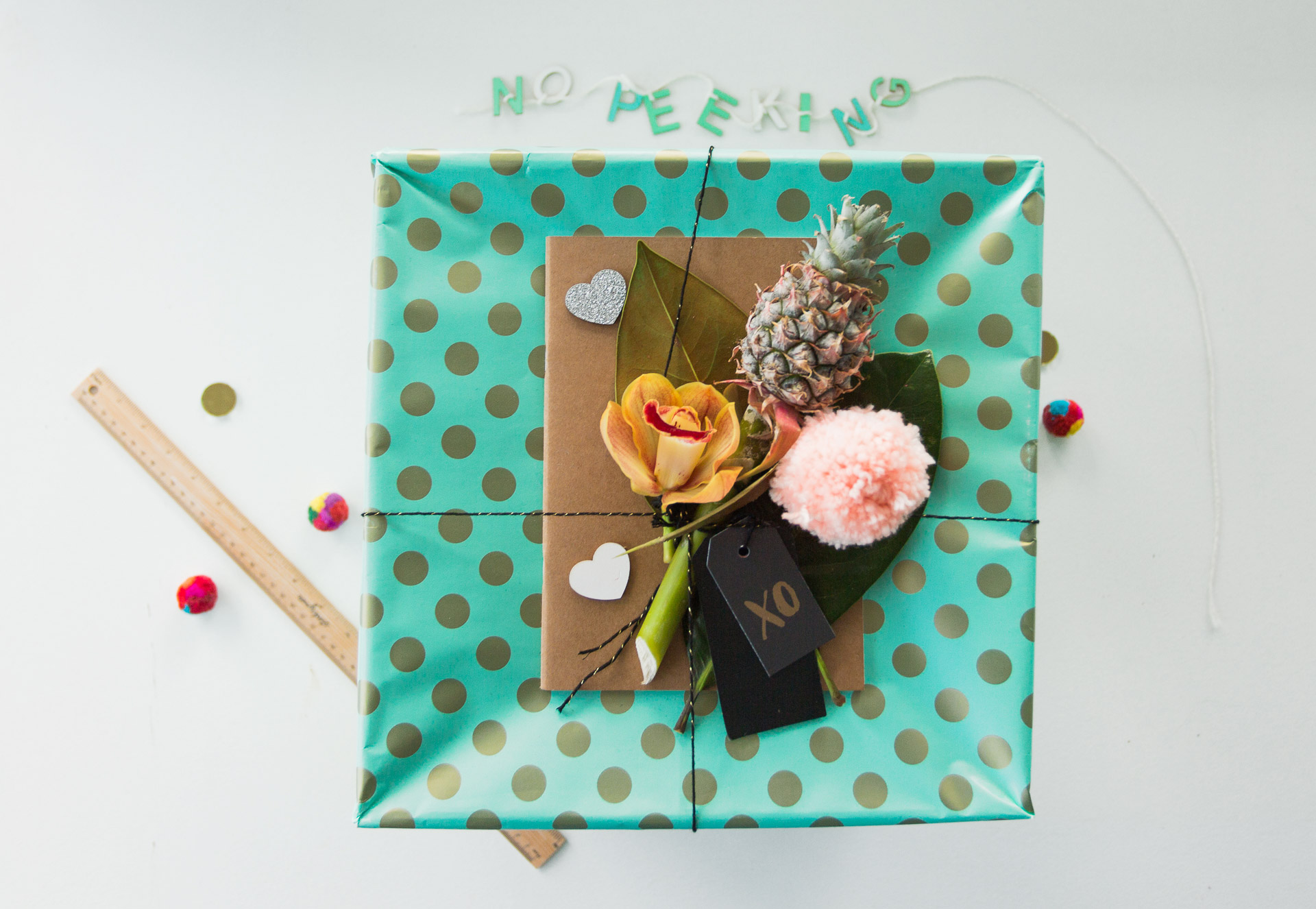 Studio Mimi Moon Table-tree-and-gift-styling-Cotton-on-Body-collaboration-shoot