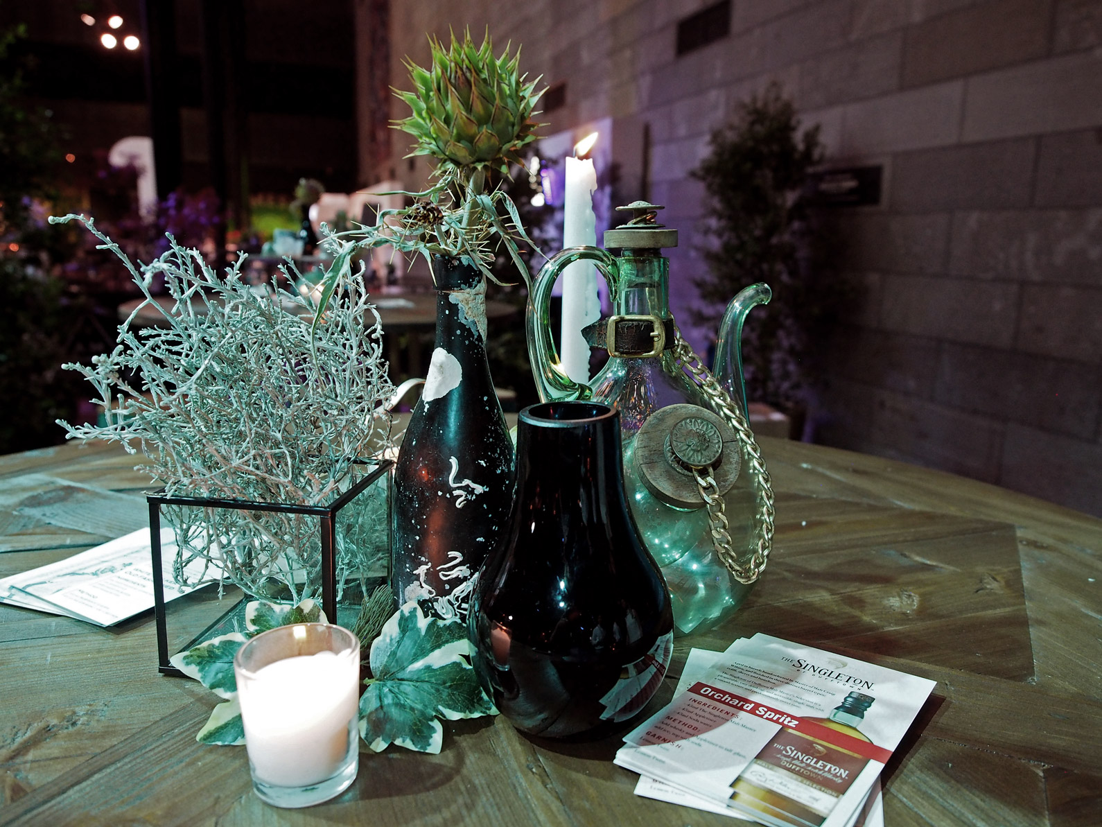 Studio-Mimi-Moon-Styling-at-NGV-for-Dan-Murpheys-Conference-Singleton-Whisky-and-Johnny-Walker-White-Walker-Limited-Edition-Bar-event