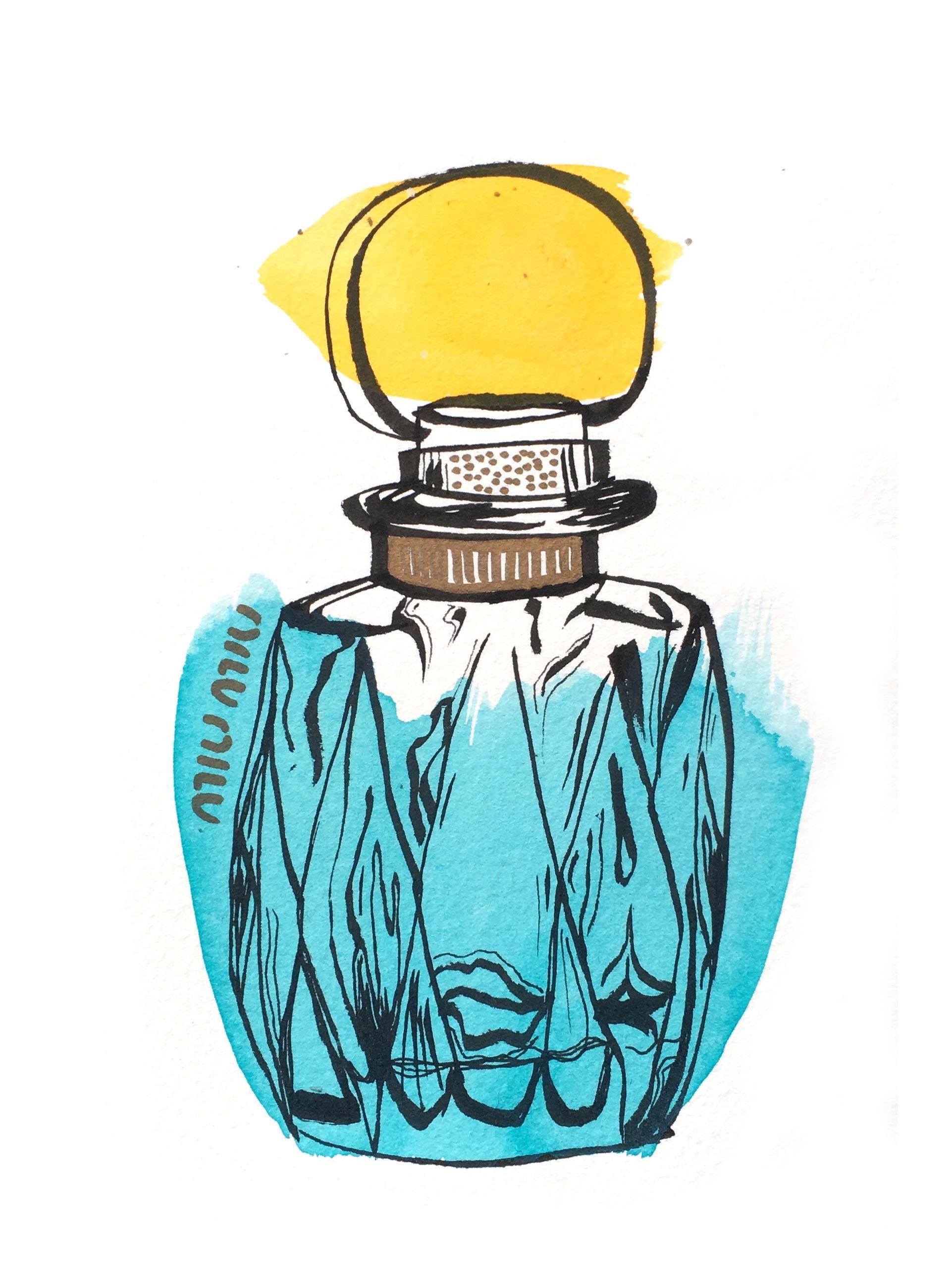 Illustration Studio Mimi Moon Miriam McWilliam NYC Sketches - MUI MUI